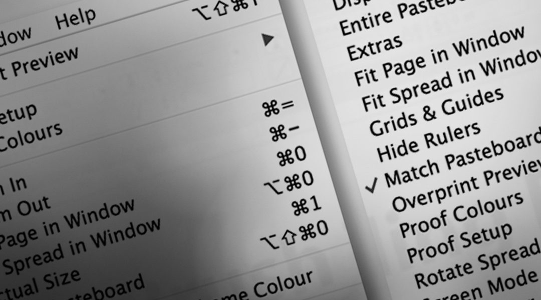 InDesign: Alfabetisk menu