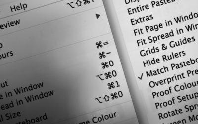 InDesign: Alfabetisk menu