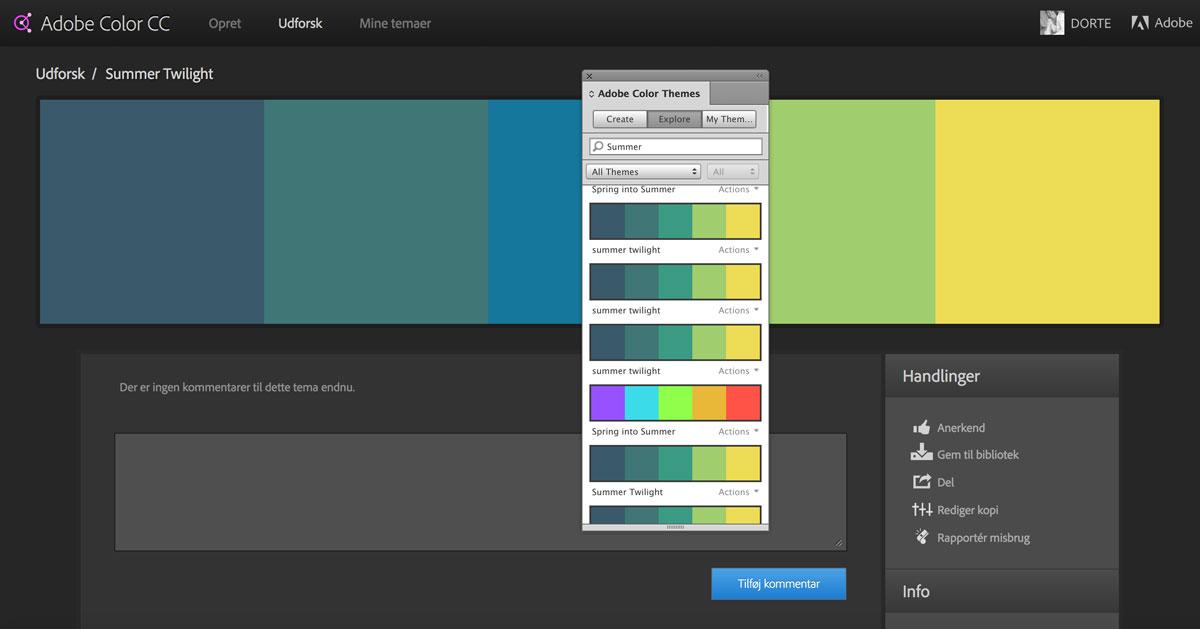 Adobe Color - Grafisk Blog