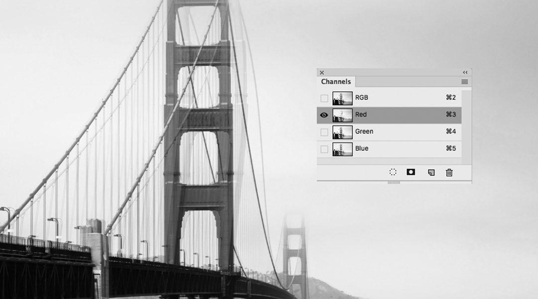 Effekt med kanaler i Photoshop