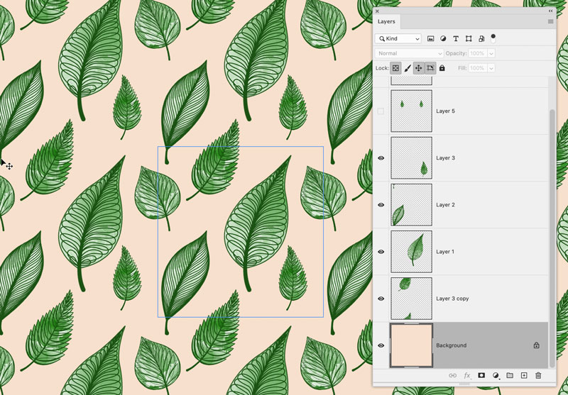 Photoshop pattern preview - grafisk blog